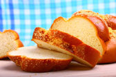 Sweet baked bread challah — Stockfoto