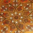 Moroccan wood pattern — Stock Photo