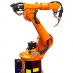 Постер, плакат: Robot welder