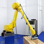 Logistic robot — Stock Photo