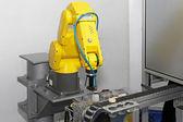 Robô em linha — Foto Stock