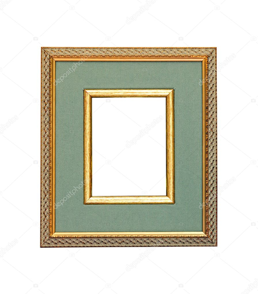 Retro decorative frame isolated with clipping path included — Stock Photo #6934831