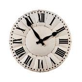 Белый ретро часы — Стоковое фото