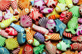 Sealife beads — Stock Photo