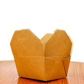 Open package — Stock Photo