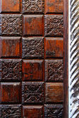 Wood decoration — Stock Photo