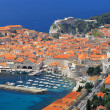 Dubrovnik city scape — Stock Photo