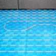 Stock Photo: Floor heating