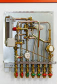 Heating instalation — Stock Photo