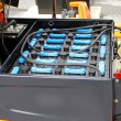 Forklift batteries - Stock Photo