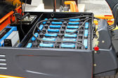 Forklift batteries — Stock Photo