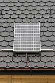 Solarmodul — Stockfoto