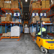 Storehouse logistic - Stock Photo