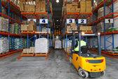 Storehouse logistic — Stock Photo