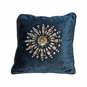 Jewelled pillow — Stock Photo
