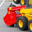 Skid steer attachment — Stock Photo