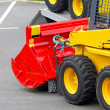 Skid steer attachment — Stock Photo #7242020