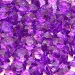 Purple crystal — Stock Photo