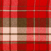 Plaid textile — Stock Photo