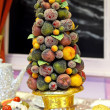 Stock Photo: Fruits tree