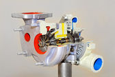 Turbo charger — Stock Photo