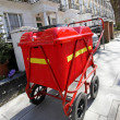 Postman cart - Stock Photo