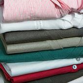 Wardrobe pile — Stock Photo