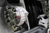 CNC lathe — Stock Photo