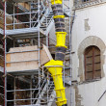 Construction scaffolding — Stock Photo #7563020