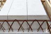 Rebar structure — Stock Photo