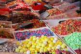 Candy stall — Stock Photo