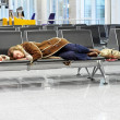 Stock Photo: Airport overnight