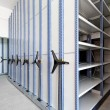 Stock Photo: High Density Shelves