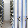 Stock Photo: Rolling Shelving