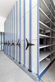 High Density Shelves — Stock Photo