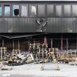 Warehouse damage — Lizenzfreies Foto