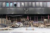 Warehouse damage — Stock Photo
