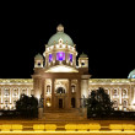Serbia Parliament — Stock Photo #7915444