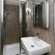 Small bathroom — Stock Photo #7949056
