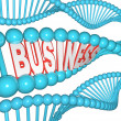 Business is in Your DNA Inherited Drive to Succeed - Stock Photo