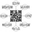 QR Code Scan Barcode to Learn Info on Products — Stock Photo #7654050