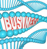 Business is in Your DNA Inherited Drive to Succeed — Stock Photo