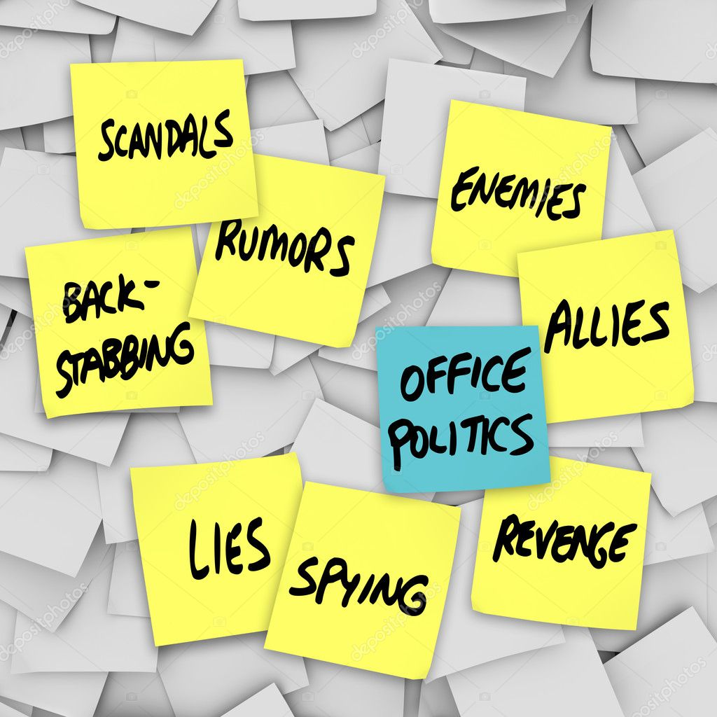 the politics of backstabbing case incident 2