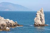 Southern coast of Crimea — Stock Photo