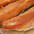 Smoked Yukon salmon — Stock Photo