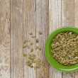 Pumpkin seeds — Stock Photo #6887153