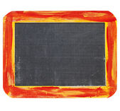 Blank blackboard sign — Stock Photo