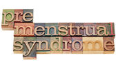 Premenstrual syndrome — Stock Photo