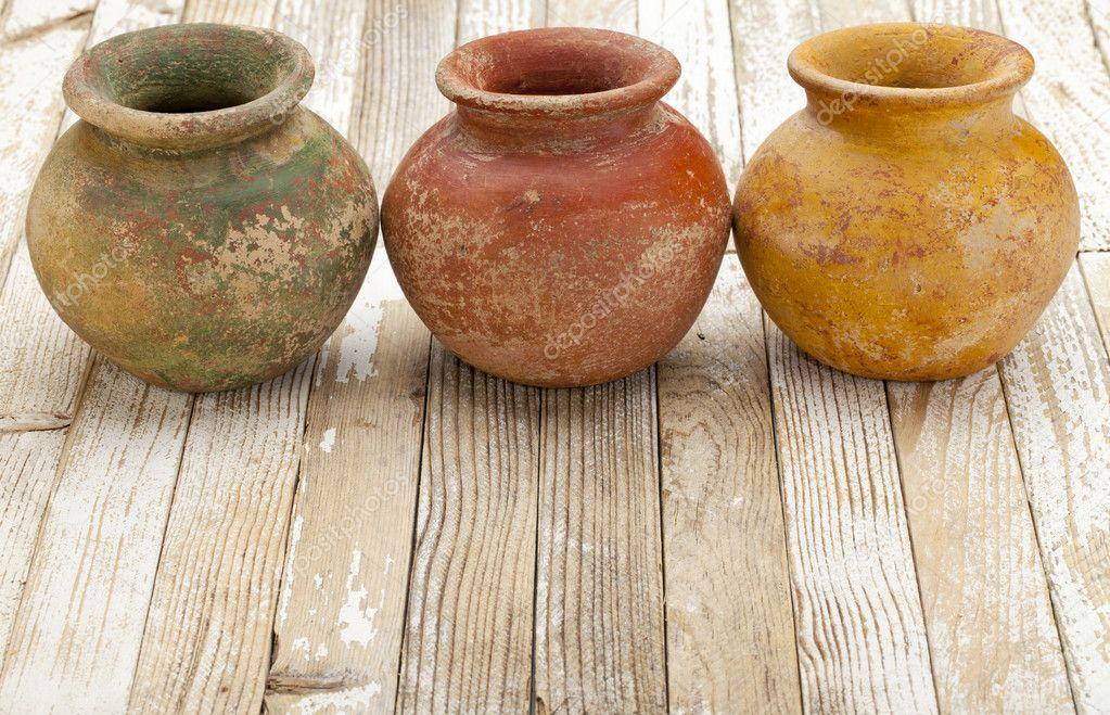 Как сделать глиняный горшочек