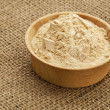 Maca root powder - Stock Photo